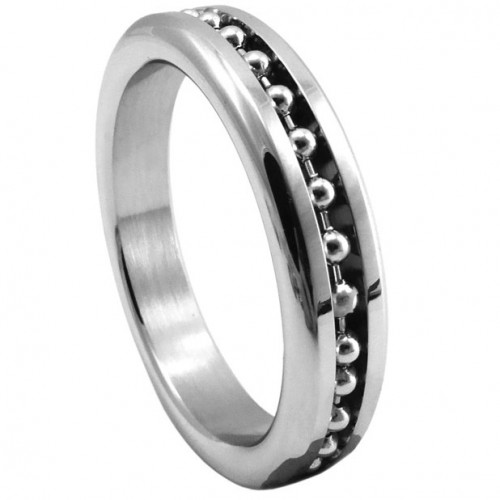 Ball Chain Stainless Steel Cock Ring