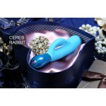 Ceres Rabbit Dual Action Vibrator from Key by JOpen
