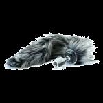 Crystal Minx Faux Tail Crystal Anal Plug