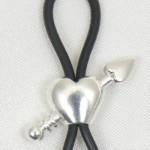 Cupid Arrow Through Heart Nipple Ring Jewelry