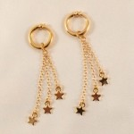 Gold Stars Labia Jewelry Rings