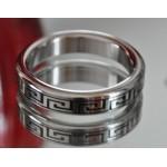 Greek Key Stainless Steel Cock Ring