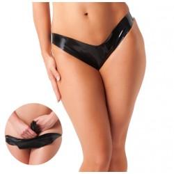 Latex Panty With Penetrating Vaginal Dildo