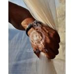 Lions Head Silver Bracelet