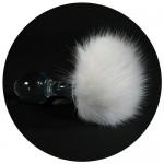 Magnetic Bunny Tail Crystal Anal Plug