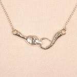 Serpent Necklace Gold
