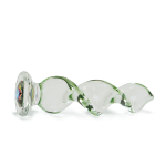 Crystal Twist Colored Glass Dildo