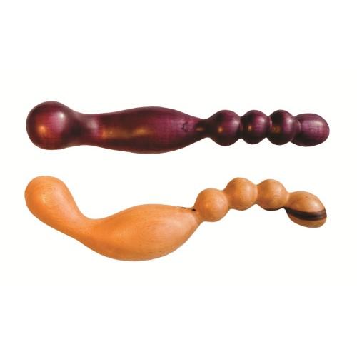 NobEssence Tryst G-Spot or Prostate Wood Dildo