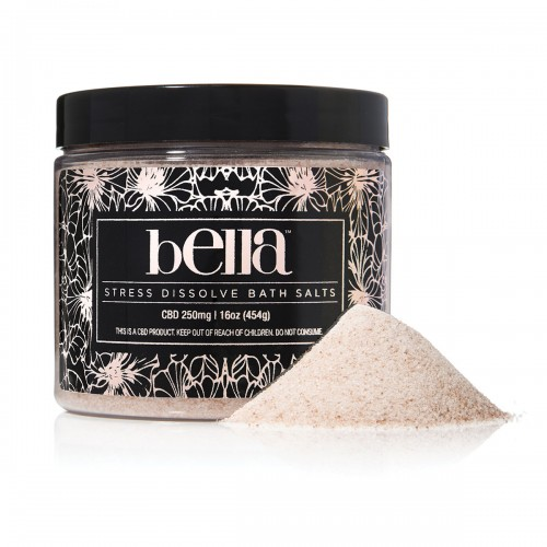 Bella CBD Stress Dissolve Bath Salts