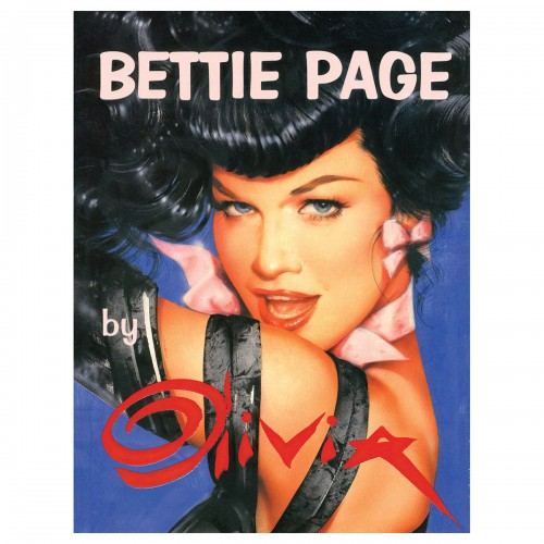 Bettie Page by Olivia
