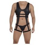 CandyMan 99541 Gladiator Bodysuit Color Black