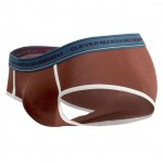 5394 Attractive Piping Briefs Color Brown