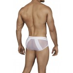 Clever 0138 Calm Piping Briefs Color White