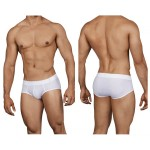Clever 0140 Spiritual Piping Briefs Color White