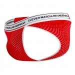 Clever 0201 Attitude Mesh Thongs Color Red