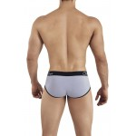 Clever 0316 Lowa Piping Briefs Color Gray