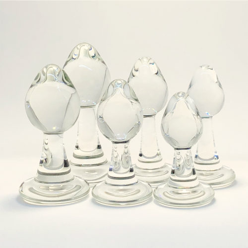 Naked Plug Series from Crystal Delights - long stem