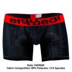 EW0660 MAX Mesh Boxer Briefs Color Black-Red