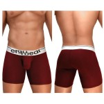 EW0917 MAX Modal Midcut Boxer Briefs Color Burgundy