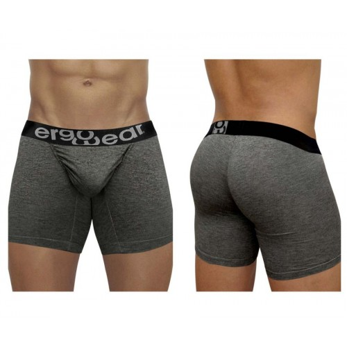 EW1031 FEEL Modal Boxer Briefs Color Gray