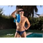 EW1053 X4D SW Swim Briefs Color Navy Blue