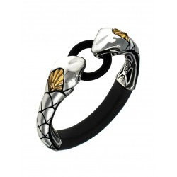 "JockRing Boa ""ELITE"" With Caprice Silver & 18K Gold Cock Ring"