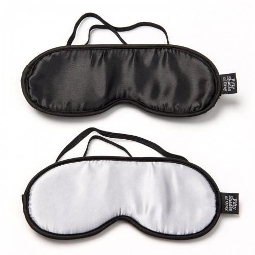 Fifty Shades - No Peeking Blindfold Twin Pack