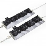 Fifty Shades - Play Nice- Satin and Lace Wrist Cuffs
