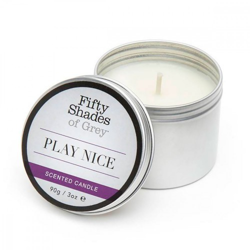 Fifty Shades of Grey Play Nice Vanilla Candle