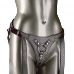 The Regal Queen Harness - Red, Pewter or Gold