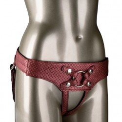 The Regal Empress Harness - Red, Pewter or Gold
