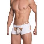 Hidden 957 Open Butt Trunk Color White