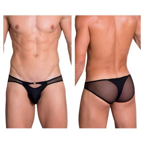 Hidden 960 Mesh Bikini-Thong Color Black