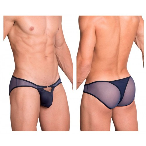Hidden 960 Mesh Bikini-Thong Color Blue