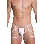 Hidden 971 Jockstrap-Thong Color White