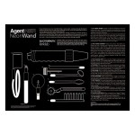 Kinklab Agent Noir Electro Erotic Neon Wand Kit