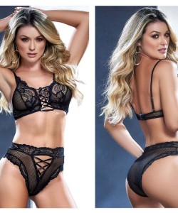 8552 Two Piece Set Color Black