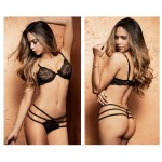 8393 Two Piece Set Color Black