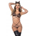 6392 Cheetah Costume Outfit Color Multi-colored