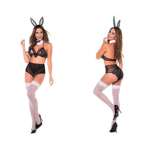 6393 Sexy Bunny Costume Outfit Color Multi-colored
