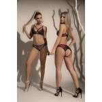 8421 Two Piece Set Color Black-Gray