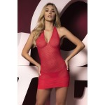 8451 Robe with Matching G-String Color Red