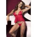 8457 Two Piece Set Color Red
