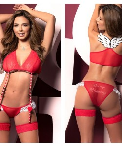 8462 Two Piece Set Color Red