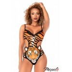 Tiger Head Animal Print Teddy