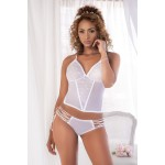 8490 Two Piece Set Color White