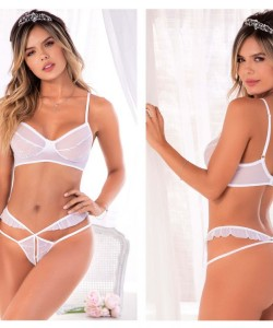 8492 Two Piece Set Color White