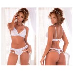 8493 Two Piece Set Color White