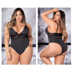 8498X Bodysuit Color Gray