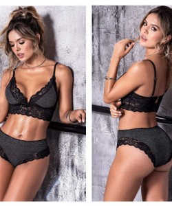 8502 Two Piece Set Color Gray